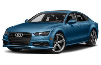 2018 Audi S7 - Sepang Blue Pearl Effect
