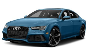 2018 Audi RS 7 - Sepang Blue Pearl Effect