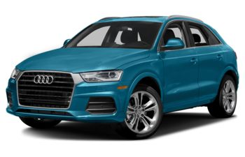 2018 Audi Q3 - Hainan Blue Metallic