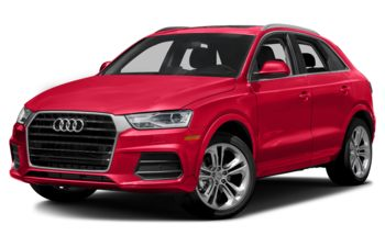 2018 Audi Q3 - Misano Red Pearl Effect