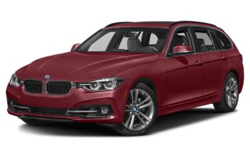 2019 BMW 330 - Melbourne Red Metallic