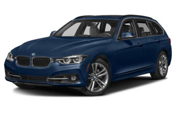 2019 BMW 330 - Mediterranean Blue Metallic