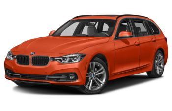 2019 BMW 330 - Sunset Orange Metallic