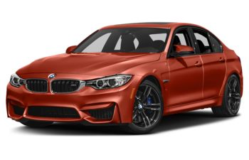 2017 BMW M3 - Sakhir Orange II Metallic