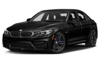 2017 BMW M3 - Black Sapphire Metallic