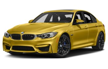2017 BMW M3 - Austin Yellow Metallic