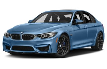 2017 BMW M3 - Yas Marina Blue Metallic