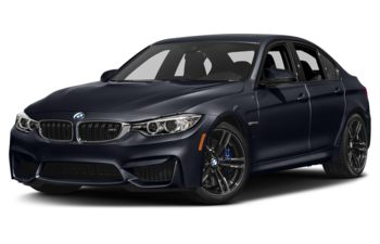 2017 BMW M3 - Azurite Black Metallic
