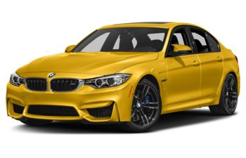2017 BMW M3 - Speed Yellow