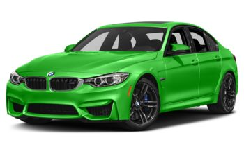 2017 BMW M3 - Java Green Metallic