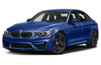 2017 BMW M3 - San Marino Blue