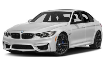 2017 BMW M3 - Mineral White Metallic