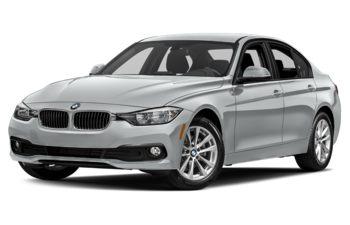 2017 BMW 320 - Glacier Silver Metallic
