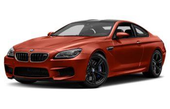2018 BMW M6 - Sakhir Orange Metallic