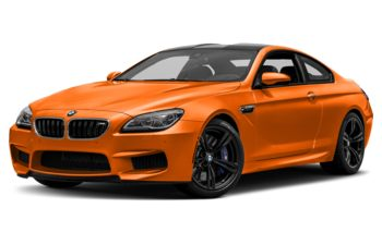 2017 BMW M6 - Fire Orange