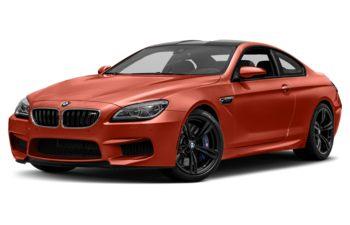 2018 BMW M6 - Valencia Orange Metallic