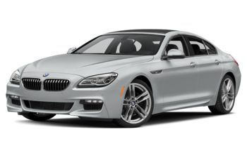 2017 BMW 640 Gran Coupe - Glacier Silver Metallic