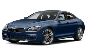 2017 BMW 640 Gran Coupe - Mediterranean Blue Metallic