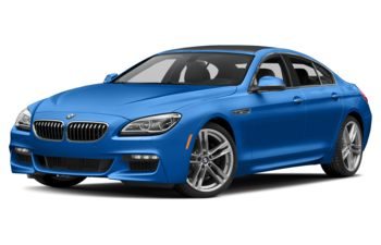 2018 BMW 640 Gran Coupe - Sonic Speed Blue Metallic