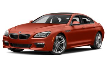 2017 BMW 640 Gran Coupe - Sakhir Orange Metallic