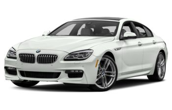 2017 BMW 650 Gran Coupe - Alpine White