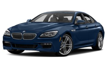 2017 BMW 650 Gran Coupe - Mediterranean Blue Metallic