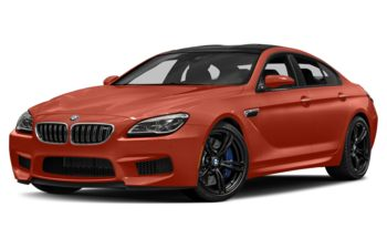 2017 BMW M6 Gran Coupe - Sakhir Orange Metallic