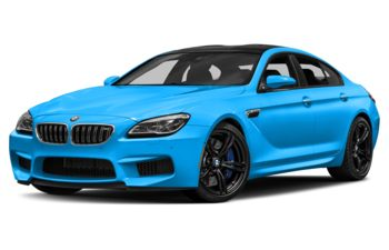 2017 BMW M6 Gran Coupe - BMW Individual Laguna Seca Blue