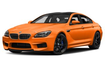 2017 BMW M6 Gran Coupe - Fire Orange