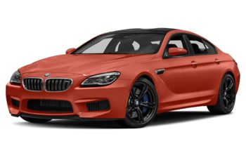 2017 BMW M6 Gran Coupe - Valencia Orange Metallic