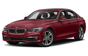 2017 BMW 328d - Melbourne Red Metallic