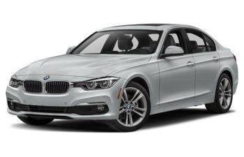 2018 BMW 328d - Glacier Silver Metallic