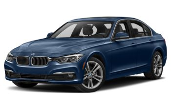 2017 BMW 328d - Mediterranean Blue Metallic