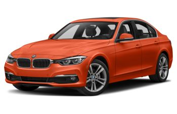 2018 BMW 328d - Sunset Orange Metallic