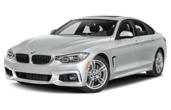 2017 BMW 440 Gran Coupe - Glacier Silver Metallic