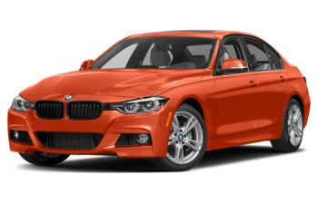 2018 BMW 340 - Sunset Orange Metallic