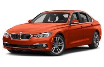 2018 BMW 330e - Sunset Orange Metallic