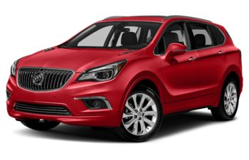 2018 Buick Envision - Chili Red Metallic