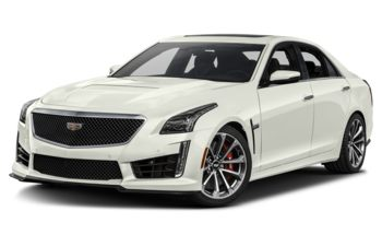 2019 Cadillac CTS-V - Crystal White Tricoat