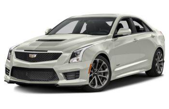 2018 Cadillac ATS-V - Crystal White Tricoat