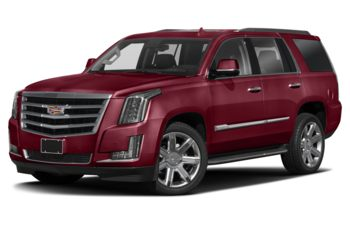 2018 Cadillac Escalade - Red Passion Tintcoat