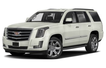 2018 Cadillac Escalade - Crystal White Tricoat