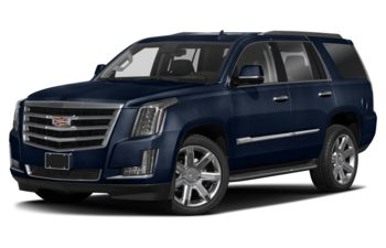 2018 Cadillac Escalade - Dark Adriatic Blue Metallic