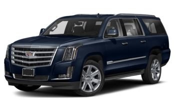 2018 Cadillac Escalade ESV - Dark Adriatic Blue Metallic