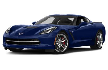 2018 Chevrolet Corvette - Admiral Blue Metallic