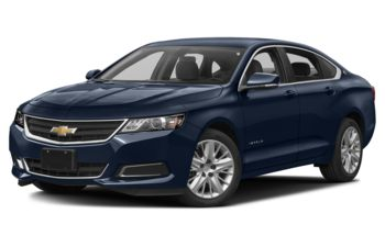 2017 Chevrolet Impala - Blue Velvet Metallic