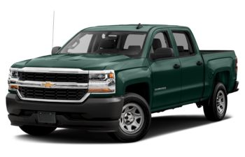 2018 Chevrolet Silverado 1500 - Woodland Green