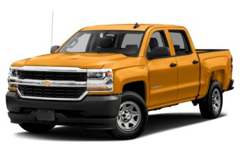 2018 Chevrolet Silverado 1500 - Wheatland Yellow
