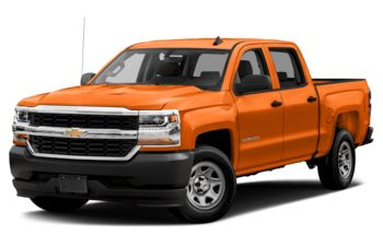 2018 Chevrolet Silverado 1500 - Tangier Orange