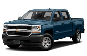 2018 Chevrolet Silverado 1500 - Deep Ocean Blue Metallic
